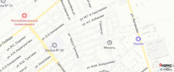 Улица Шадиева М.А. на карте территории Альтиевского округа с номерами домов