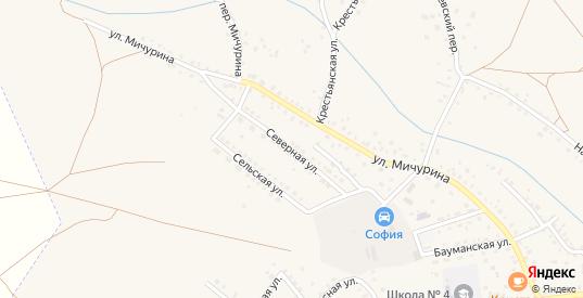 Северная улица в Котово с номерами домов на карте. Спутник и схема онлайн