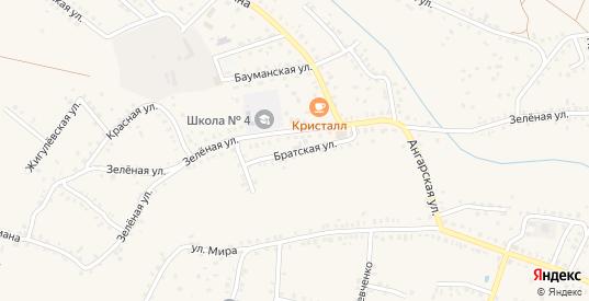 Братская улица в Котово с номерами домов на карте. Спутник и схема онлайн