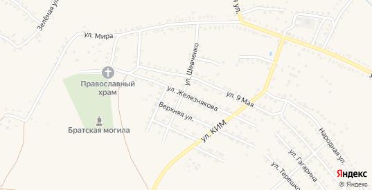 Улица Железнякова в Котово с номерами домов на карте. Спутник и схема онлайн