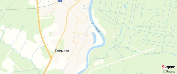 Карта Мантурово с районами, улицами и номерами домов: Мантурово на карте России