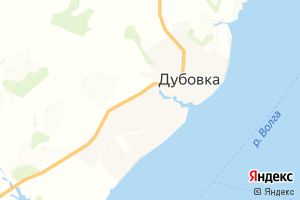 Карта г. Дубовка Волгоградская область