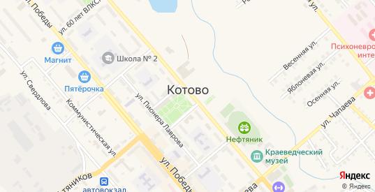 Береговая улица в Котово с номерами домов на карте. Спутник и схема онлайн