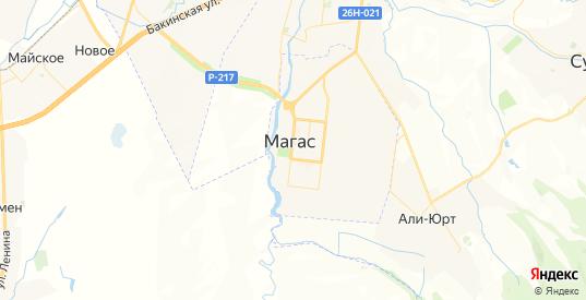Карта Магаса с улицами и домами подробная. Показать со спутника номера домов онлайн