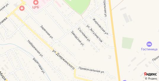 Заводская улица в Котово с номерами домов на карте. Спутник и схема онлайн