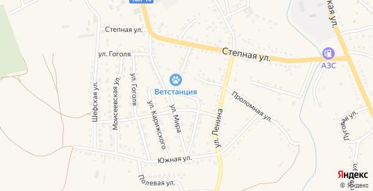 Улица Серова в Котово с номерами домов на карте. Спутник и схема онлайн