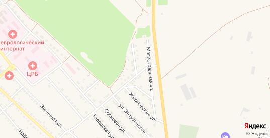 Березовая улица в Котово с номерами домов на карте. Спутник и схема онлайн