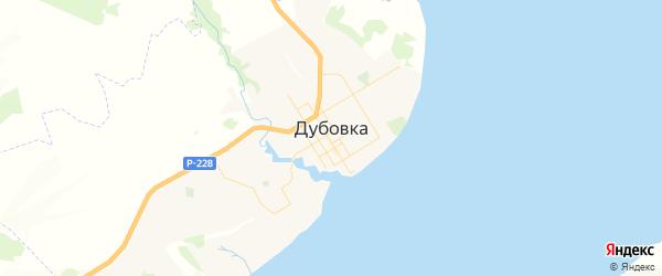 Карта Дубовки с районами, улицами и номерами домов: Дубовка на карте России