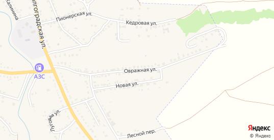 Овражная улица в Котово с номерами домов на карте. Спутник и схема онлайн