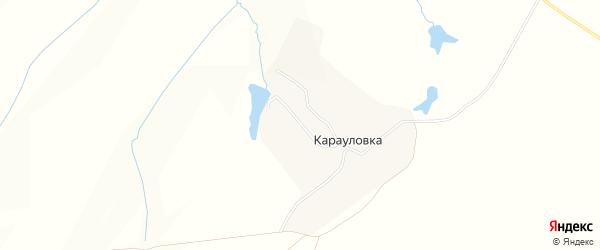 Карта села Карауловки в Нижегородской области с улицами и номерами домов