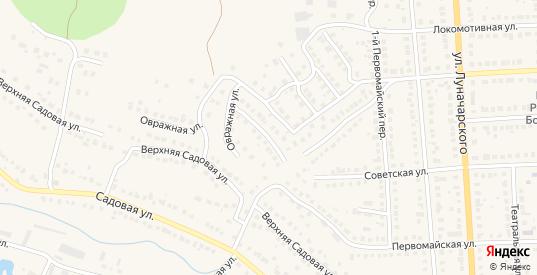 Закирпичный 5-й переулок в Рузаевке с номерами домов на карте. Спутник и схема онлайн