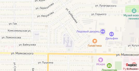 Площадь Байкузова в Рузаевке с номерами домов на карте. Спутник и схема онлайн
