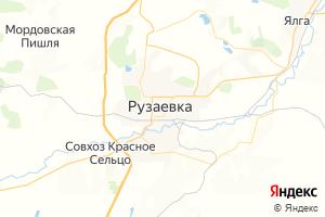 Карта г. Рузаевка