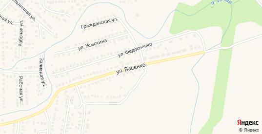 Улица Васенко в Рузаевке с номерами домов на карте. Спутник и схема онлайн