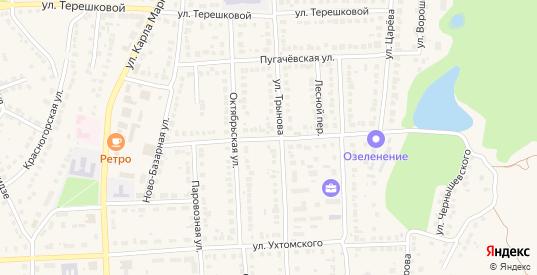 Интернациональная улица в Рузаевке с номерами домов на карте. Спутник и схема онлайн