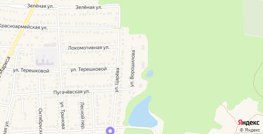 Улица Ворошилова в Рузаевке с номерами домов на карте. Спутник и схема онлайн