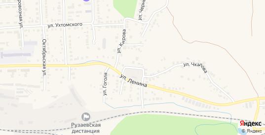 Ленина 2-й проезд в Рузаевке с номерами домов на карте. Спутник и схема онлайн