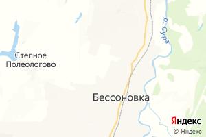 Карта с. Бессоновка Пензенская область