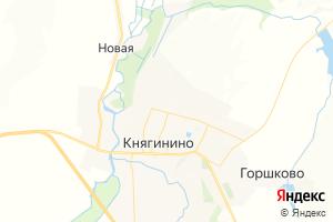 Карта г. Княгинино Нижегородская область