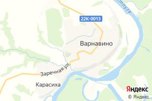 Карта пос. Варнавино Нижегородская область