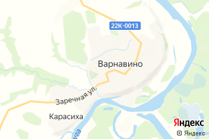 Карта пос. Варнавино