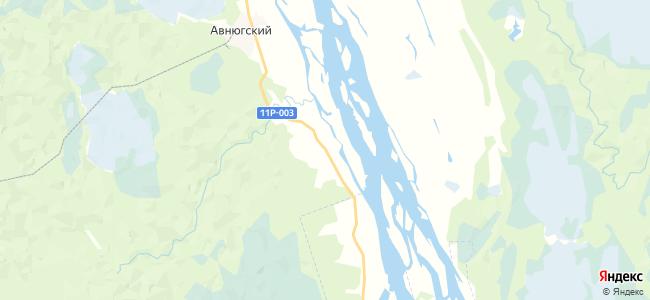 Селивановская на карте