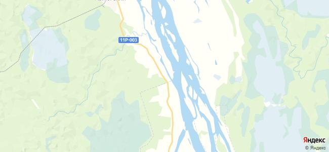 Прилуцкая на карте