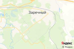 Карта г. Заречный Пензенская область
