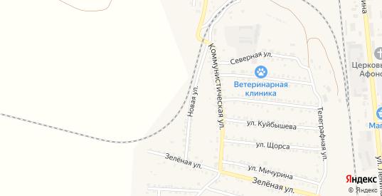 Новая улица в Петровом Вале с номерами домов на карте. Спутник и схема онлайн