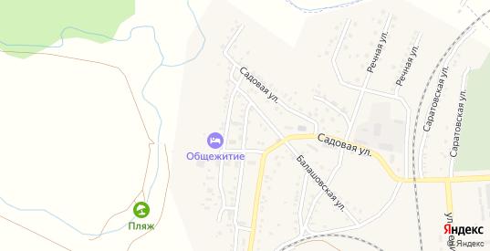 Совхозный 2-й переулок в Петровом Вале с номерами домов на карте. Спутник и схема онлайн