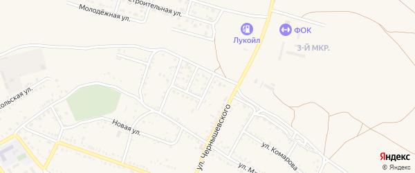 Подгорная улица на карте Ленинска с номерами домов