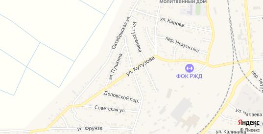 Улица Жданова в Петровом Вале с номерами домов на карте. Спутник и схема онлайн