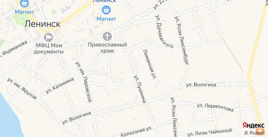 Улица Пушкина в Ленинске с номерами домов на карте. Спутник и схема онлайн