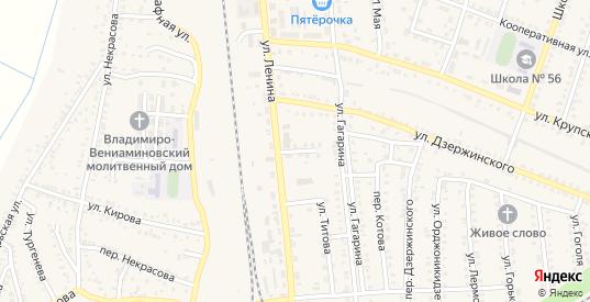 Центральный переулок в Петровом Вале с номерами домов на карте. Спутник и схема онлайн