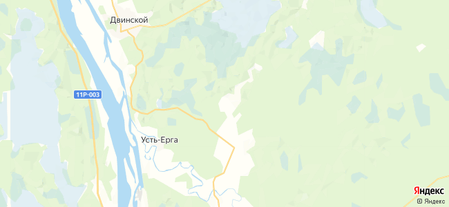 Прошинская на карте