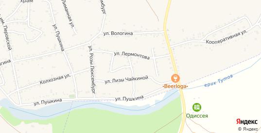 Улица Чайковского в Ленинске с номерами домов на карте. Спутник и схема онлайн