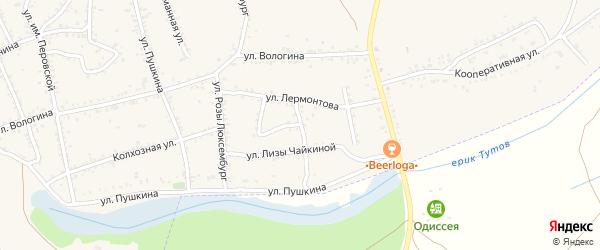 Улица им.Чайковского на карте Ленинска с номерами домов