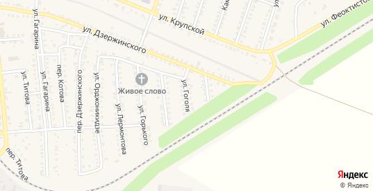 Улица Гоголя в Петровом Вале с номерами домов на карте. Спутник и схема онлайн