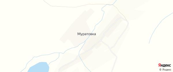 Карта села Муратовки в Нижегородской области с улицами и номерами домов