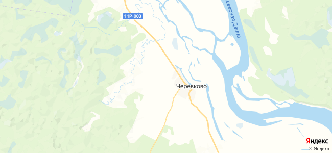 Пономаревская на карте
