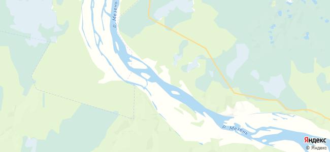 Палуга на карте