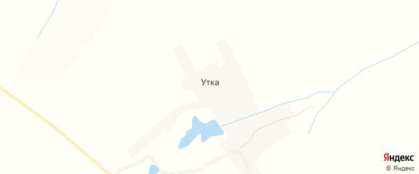 Карта села Утки в Нижегородской области с улицами и номерами домов