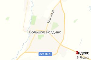 Карта с. Большое Болдино Нижегородская область