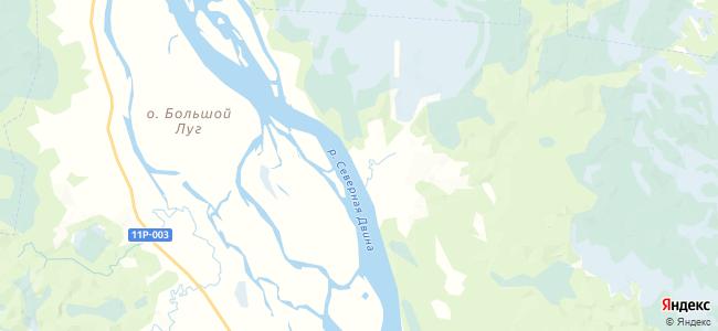 Тереховская на карте