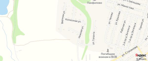 Полевая улица на карте Петровска с номерами домов