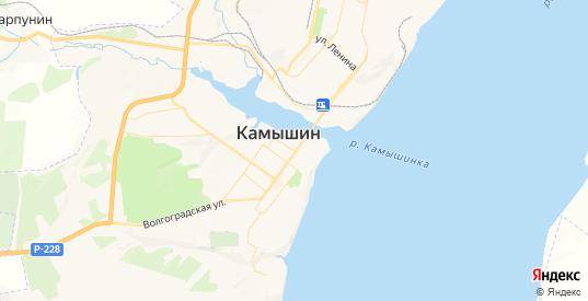 Карта Камышина с улицами и домами подробная. Показать со спутника номера домов онлайн