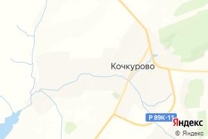 Карта с. Кочкурово Республика Мордовия