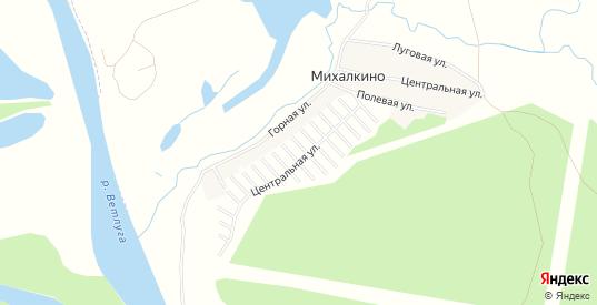 Карта садового некоммерческого товарищества Западный в Шарье с улицами, домами и почтовыми отделениями со спутника онлайн