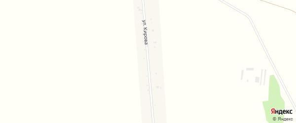 Улица Кирова на карте села Лады Мордовии с номерами домов