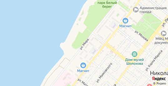Улица Мира в Николаевске с номерами домов на карте. Спутник и схема онлайн